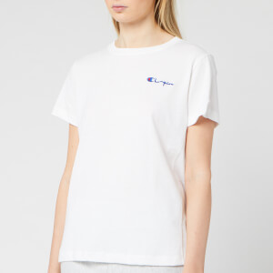Champion Women's Small Script T-Shirt - White