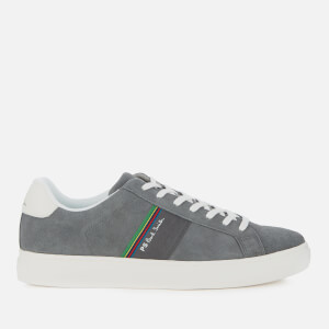 PS Paul Smith Men's Rex Leather Low Top Trainers - Grey