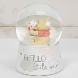 Disney Magical Beginnings Snow Globe Pooh & Piglet