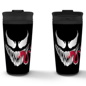 Venom (Face) Metal Travel Mug