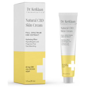 Dr Kerklaan Natural CBD Skin Cream 1 oz