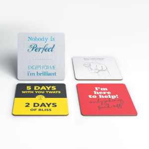 Offensive Coaster Set