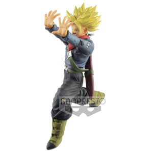 Statuetta Banpresto Dragon Ball Super Future Trunks Galick Gun - Banpresto