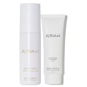 Alpha-H Liquid Gold and Daily Essential Moisturiser SPF 50 (Worth $106.90)