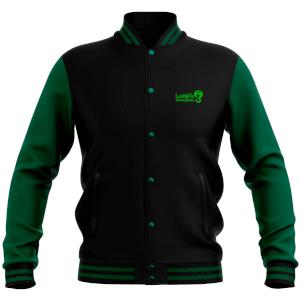 Nintendo Luigi's Mansion 3 Varsity Jacket - Black/Green