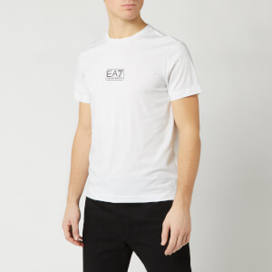 Emporio Armani EA7 Men's Middle Chest Logo T-Shirt - White