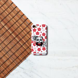 Ramen Panda Blumenmuster Handyhülle für iPhone und Android