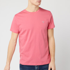 GANT Men's The Original Short Sleeve T-Shirt - Rapture Rose