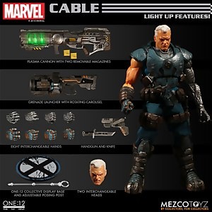 Mezco One:12 Collective X-Men Cable Action Figure