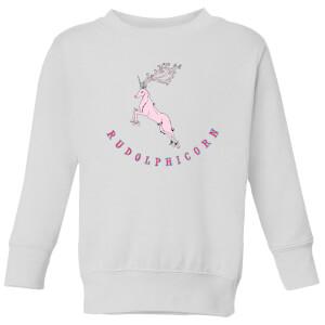 Rudolphicorn Kids' Sweatshirt - White