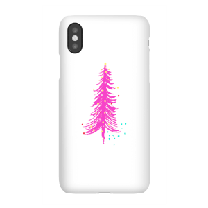 Pink Christmas Tree Phone Case for iPhone and Android