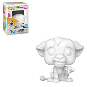 Figurine Pop! Simba A Customiser - Disney Le Roi Lion