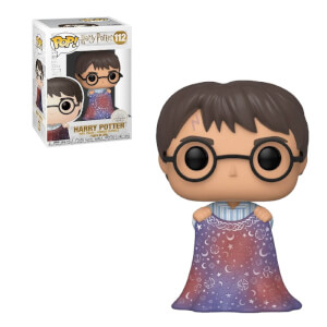 Figura Funko Pop! - Harry Con Capa De Invisibilidad - Harry Potter