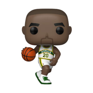 NBA Legends Gary Payton Sonics (Home Jersey) Funko Pop! Vinyl