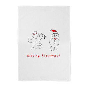 Merry Kissmas Cotton Tea Towel