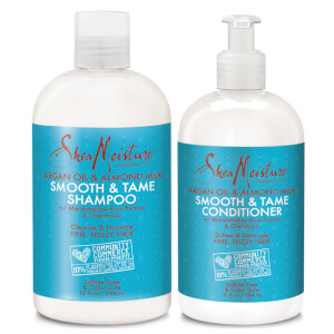 SheaMoisture Shampoo and Conditioner Frizzy Hair Duo (Worth $39.98)