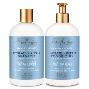 SheaMoisture Shampoo and Conditioner Dry Brittle Hair Duo (Worth $39.98)