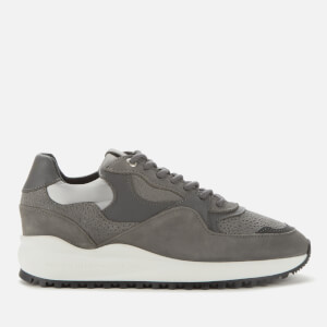 Android Femme Women's Santa Monica Chunky Running Style Trainers - Dove Grey Stringray