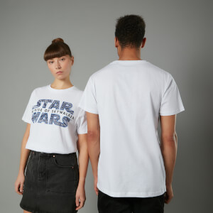 Camiseta The Rise of Skywalker Hyperspace - Unisex - Blanco
