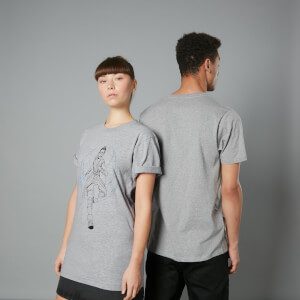 The Rise of Skywalker - T-shirt Rey - Gris - Unisexe