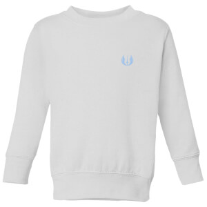 The Rise of Skywalker Jedi Logo Kids' Sweatshirt - White