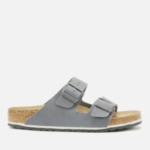 Birkenstock Men's Arizona Desert Soil Double Strap Sandals - Grey