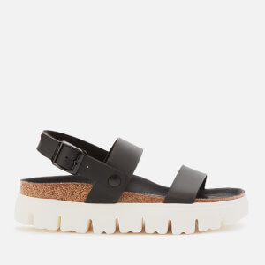 Birkenstock Women's Papillio Cameron Chunky Damasko Flatform Sandals - Black