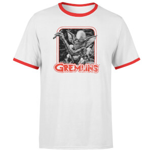 Gremlins Retro T-Shirt - White/Red Ringer