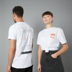 The Rise of Skywalker - T-shirt X-Wing Schematic - Blanc - Unisexe