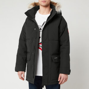 Canada Goose Men's Emory Parka Jacket - Black