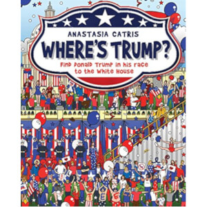 Where's Trump? Hardback Book
