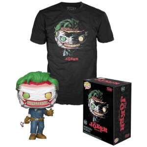 DC Comics Joker Death of Joker EXC Pop! And Tee Bundle