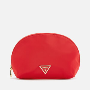 Guess Women's Did I Say 90s? Dome Pouch - Red