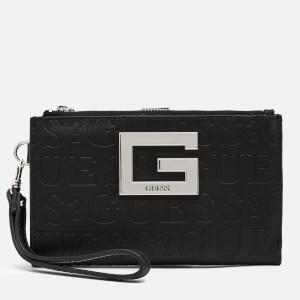 Guess Women's Brightside Double Zip Wallet - Black