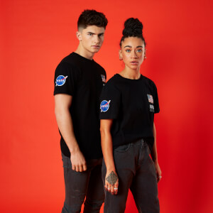 Camiseta NASA Base Camp - Unisex - Negro