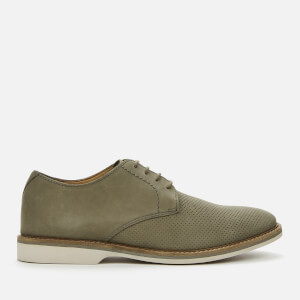 Clarks Men's Atticus Lace Nubuck Derby Shoes - Sage
