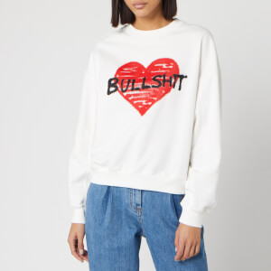 Philosophy di Lorenzo Serafini Women's Bullshit Sweatshirt - White/Red