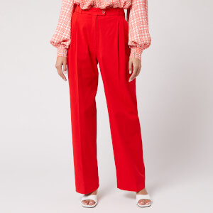 Stine Goya Women's Chet Twill Trousers - Red