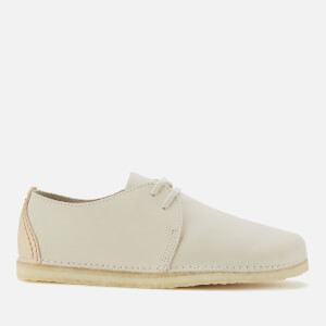 Clarks Originals Women's Ashton Nubuck Flat Shoes - Off White