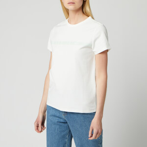A.P.C. Women's Yukata T-Shirt - Pale Green