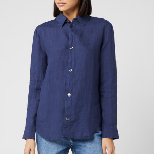 A.P.C. Women's Gina Denim Shirt - Indigo