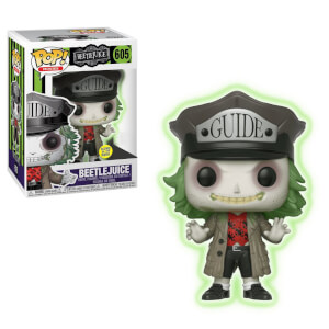 Figura Funko Pop! Exclusivo - Beetlejuice Con Sombrero (Glow In The Dark) - Beetlejuice