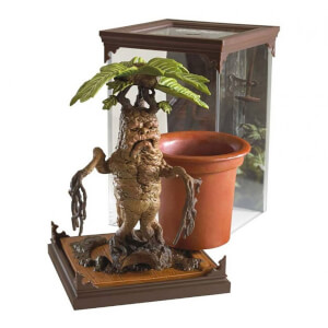 Harry Potter Magical Creatures Mandrake Sculpture