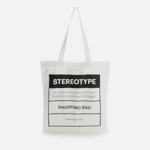 Maison Margiela Men's Tote Bag - White