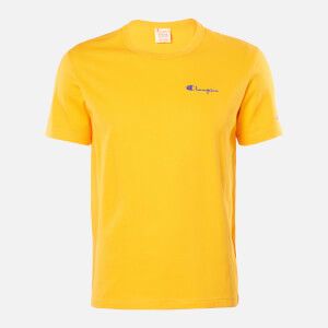 Champion Men's Back Script Crew Neck T-Shirt - Orange