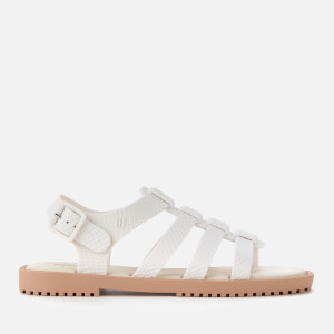Melissa Women's Flox Snake Sandals - White Contrast