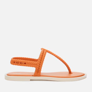 Melissa Women's Salinas Flash Toe Post Sandals - Cinnamon