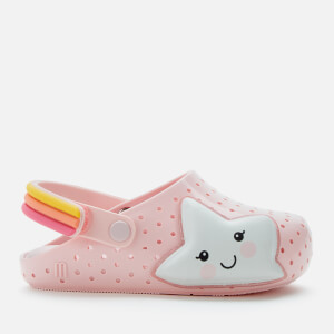 Mini Melissa Toddlers' Babouche Sweet Dreams Flats - Blush Star