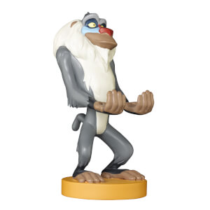 Figurine Rafiki Roi Lion Disney Cable Guys - Support Chargeur Smartphone et Manette