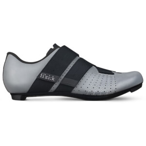 Fizik Tempo Powerstrap R5 Road Shoes - Reflective Grey/Black